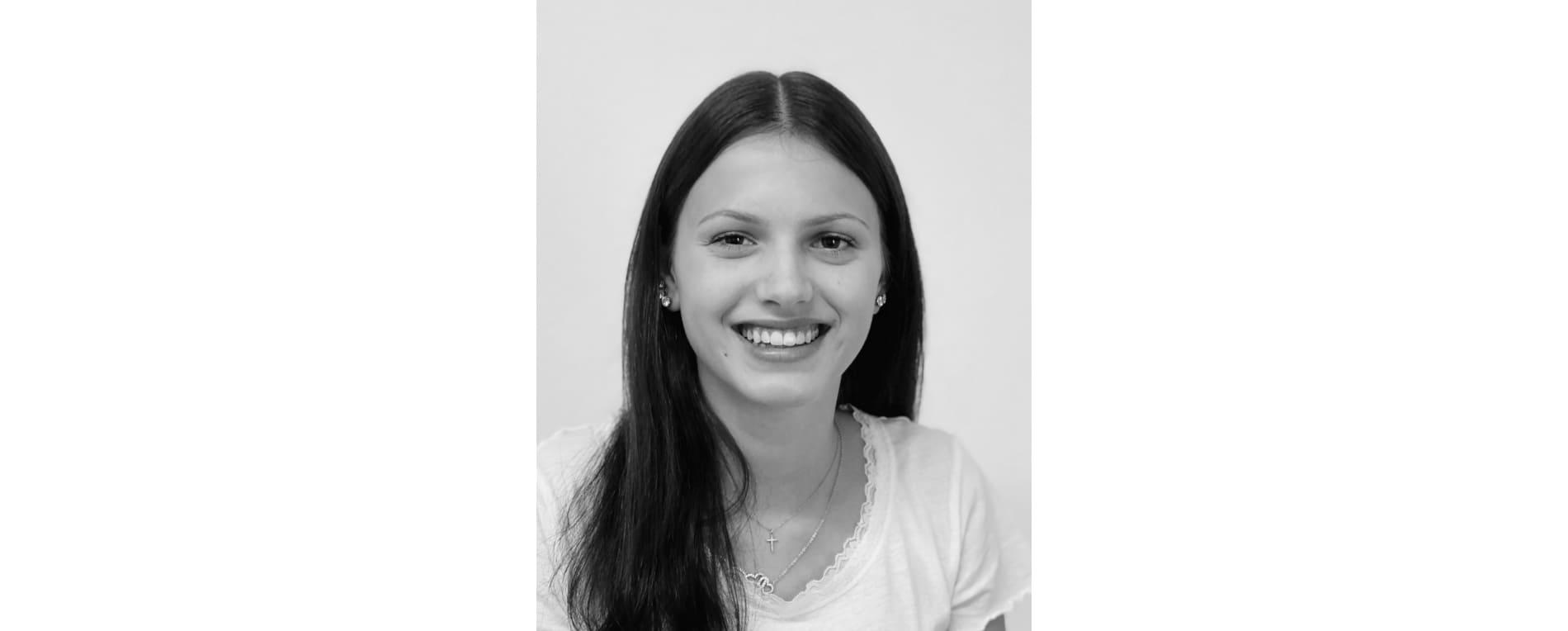 Anisha Huber ist Lehrtochter bei der HTC-Baukadervermittlung