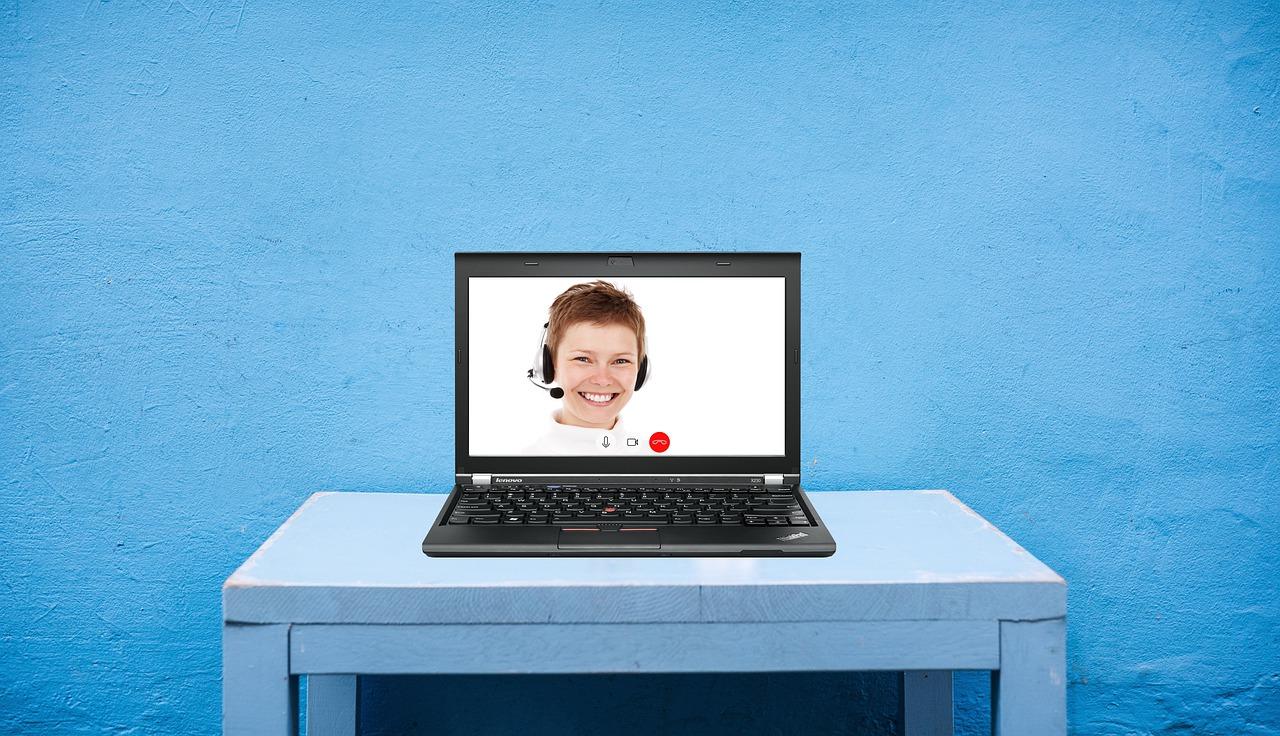 Video-Gespräch - wirklich?