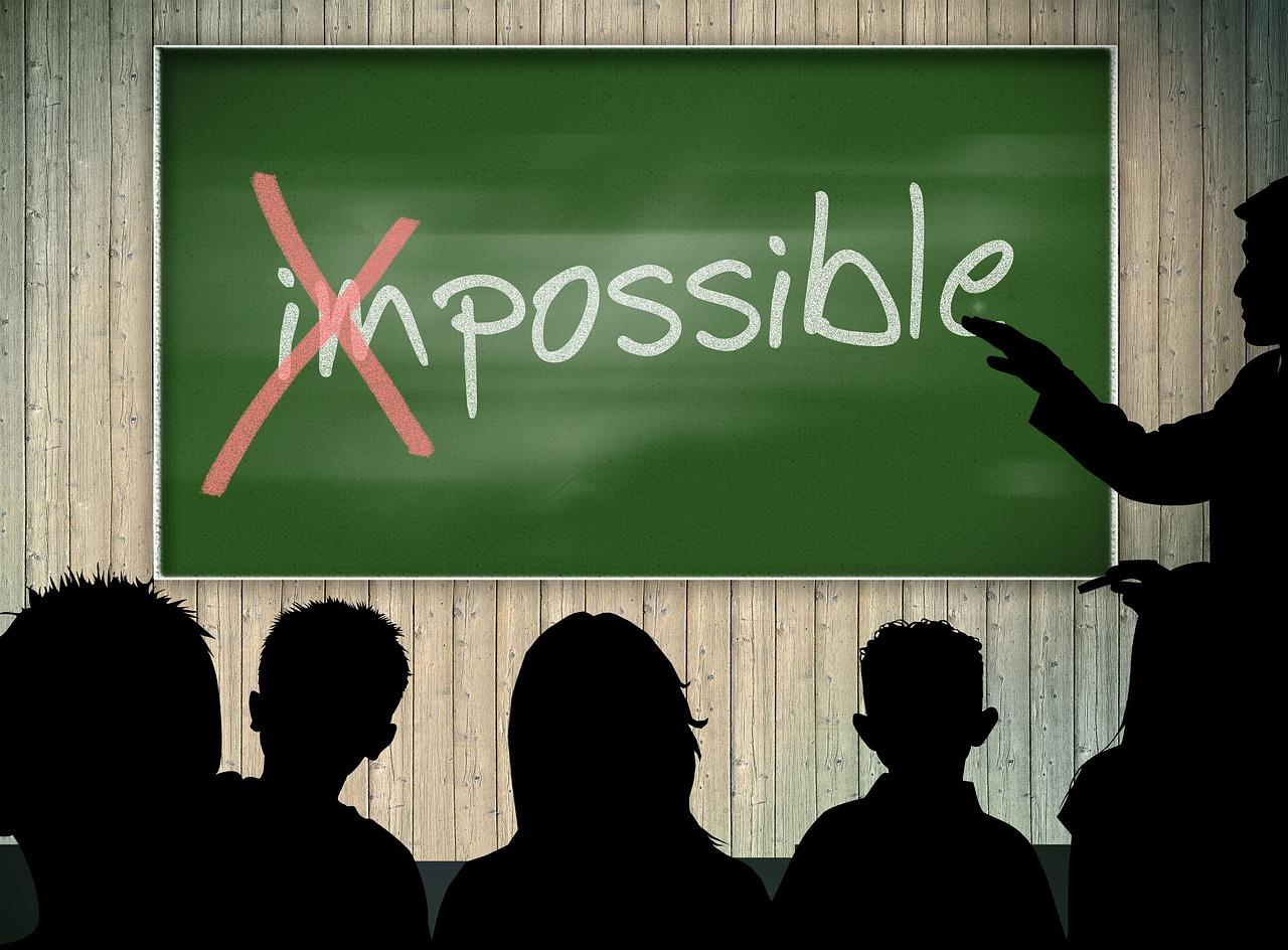 Unmöglich oder nur unüblich?