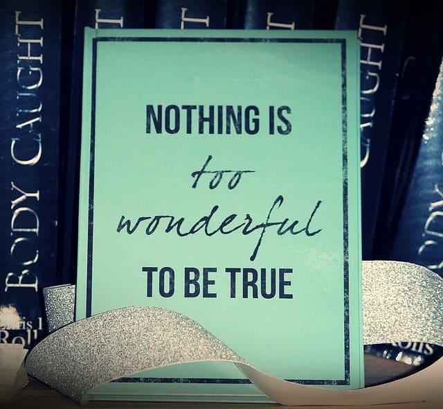 Jeder Spruch beinhaltet auch Wahrheit